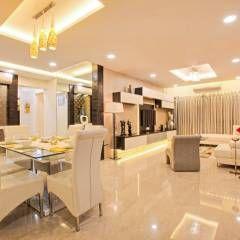 Salas de estar Minimalista por ARK Reza Kabul Architects Pvt. Ltd.