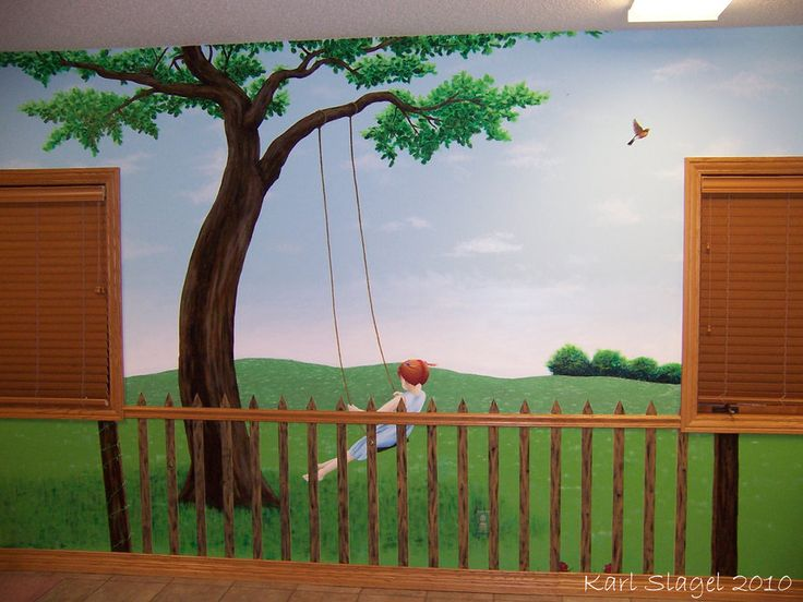 20 best images about mural ideas on pinterest for Church nursery mural