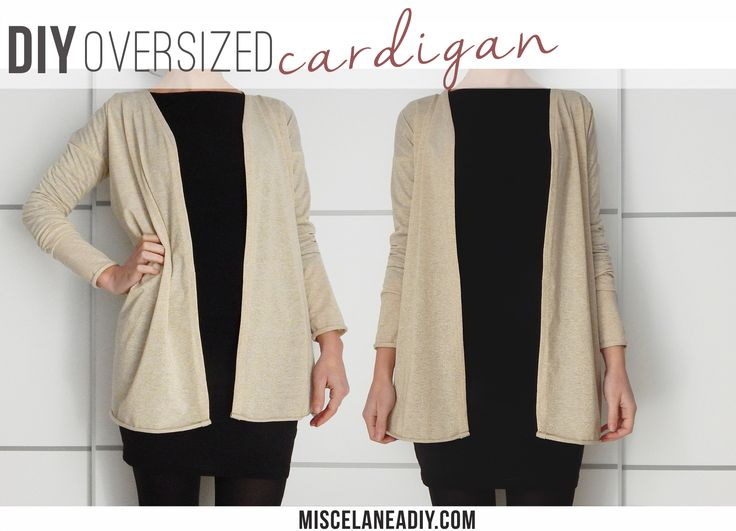 DIY Sewing | Oversized Cardigan
