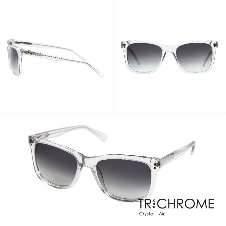 Imagine prestigious elements of nature are infused into the temples of eyewear. Noble colours are redefined by the posh patterns like marble, bull's horn and wood grain to reveal a unique style of classiness.  Crystal with Air: http://goo.gl/vBulRB  #trichromeeyewear #sunglasses #crystal #clear #simple #translucent #SS #fashion #air #floating #fresh #gift #valentineday #love
