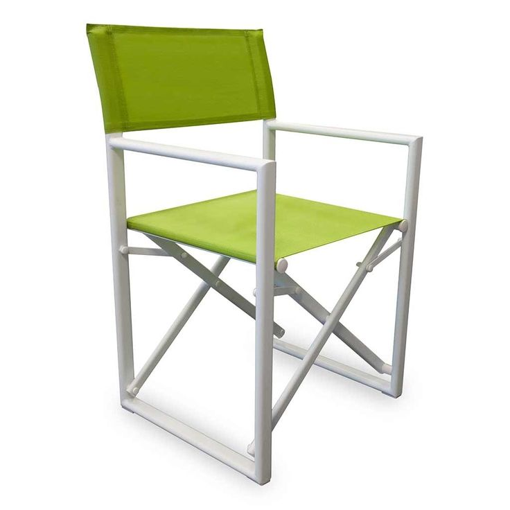 lime green director chair cover