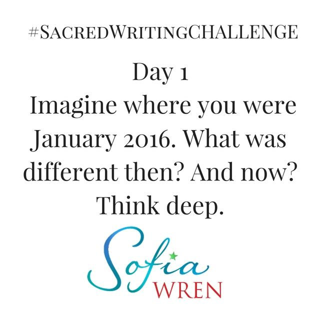 What if you could hear what your intuition says about 2017?  Would you like to hear your intuition more clearly so you always know what to do next? Want to write more for pleasure or your profession?  Join us now for the #SacredWritingChallenge  Here is the Prompt for Day 1