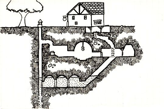 Gallows Cross map