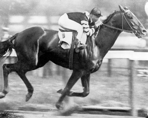 In 1920, Man o' War won the Belmont Stakes by 20 lengths and set a new track…
