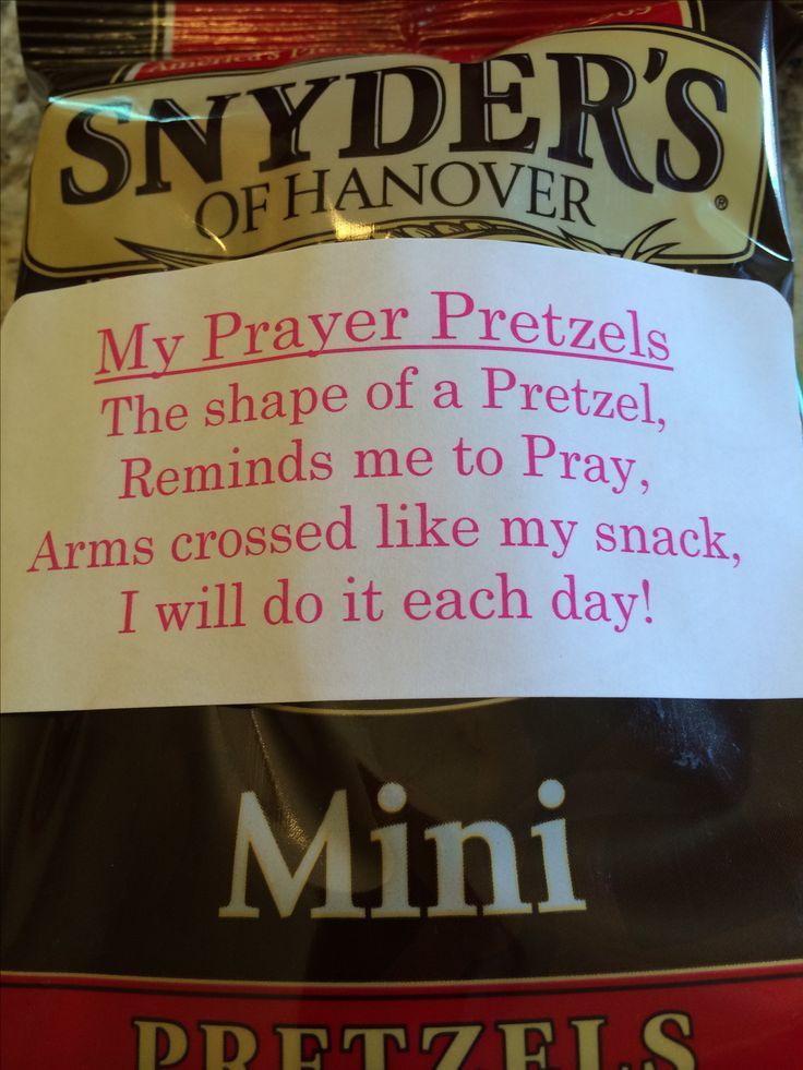 Prayer Pretzels!