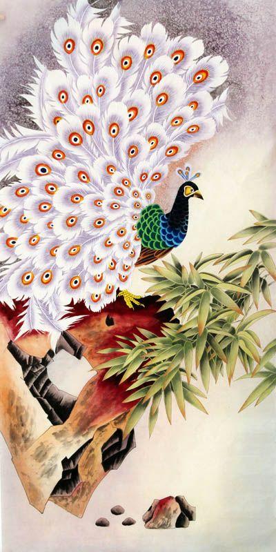 Peacock Peahen,66cm x 136cm(26〃 x 53〃),2605003-z