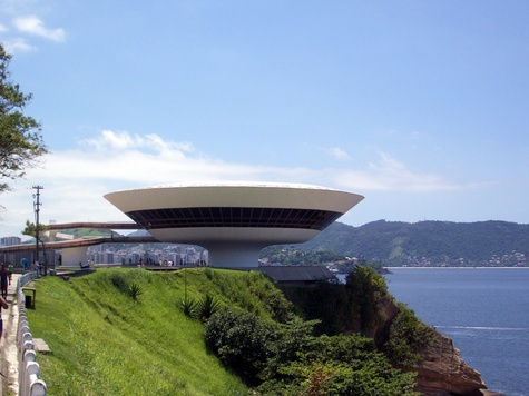 Niterói Contemporary Art Museum in Brazil