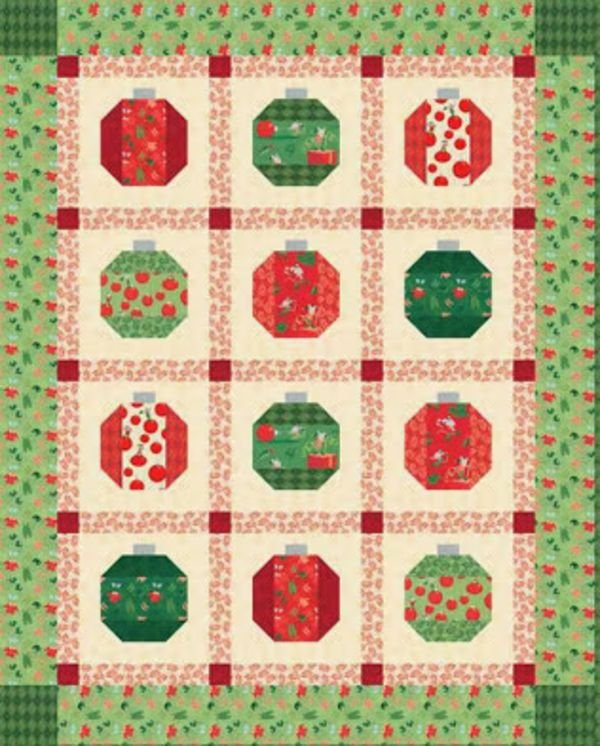5 Free Christmas Quilt Patterns  from 24 blocks