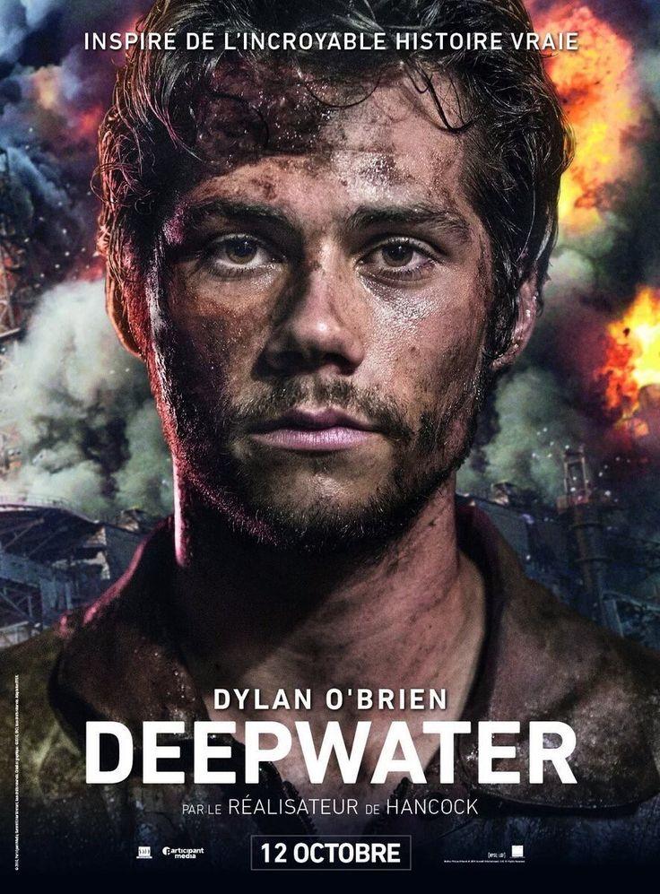 Dylan O'Brien Deepwater Horizon promotional poster
