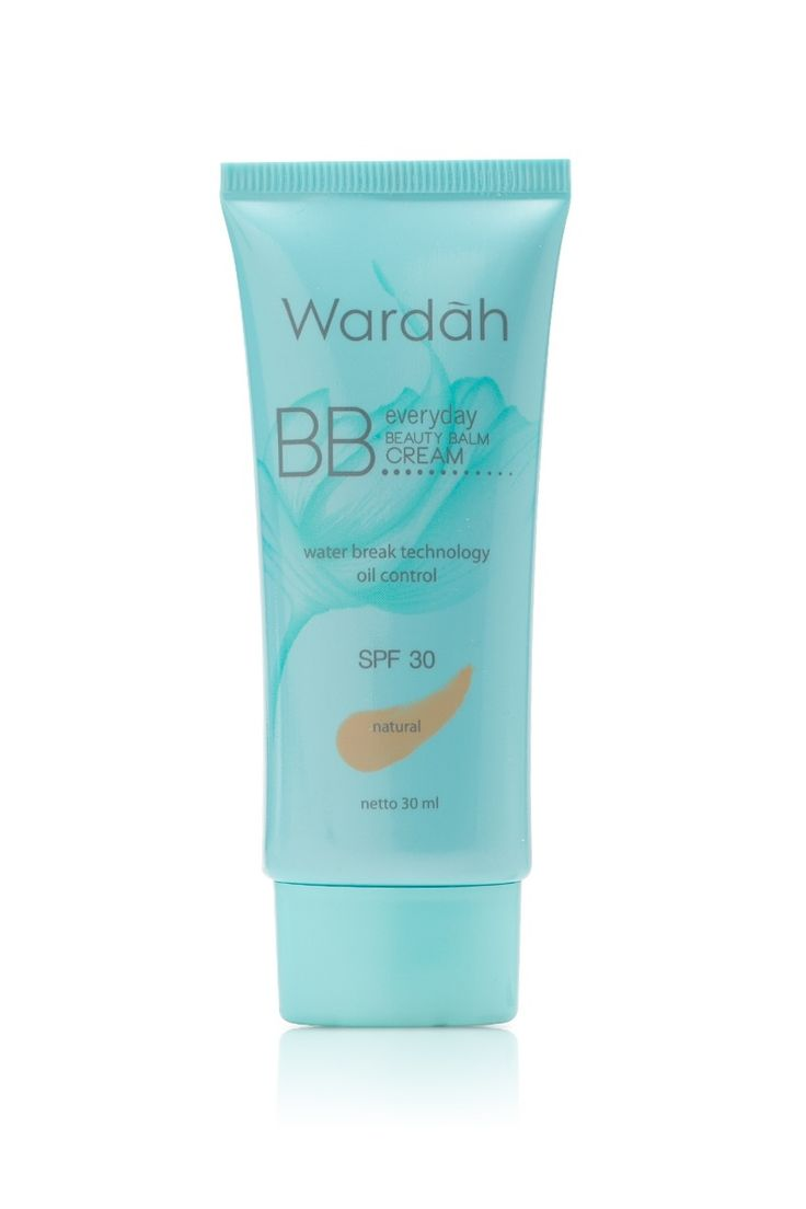 Everyday BB Cream by Wardah IDR 45.000 Daily activites makes your skin need a best mate to always look flawless everyday. Find it on Everyday BB Cream! It fixes uneven skin tone and covers imperfections on your skin.