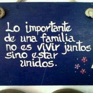 Lo importante de una familia*