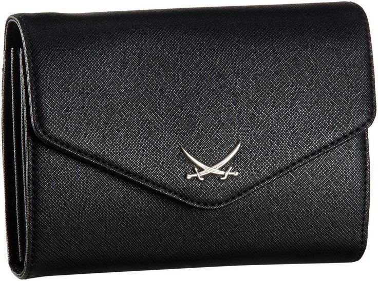 Sansibar Sansibar Chic Clutch Bag Black - Abendtasche