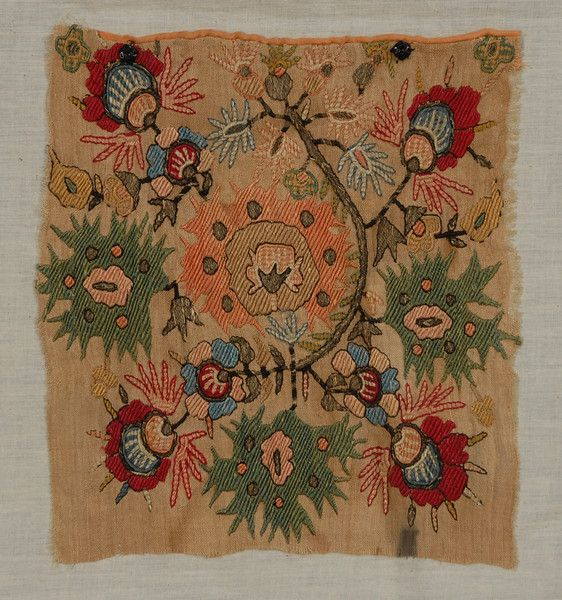 LOT 166 TURKISH and GREEK ISLAND EMBROIDERY FRAGMENTS, 1880 - 1900. - whitakerauction