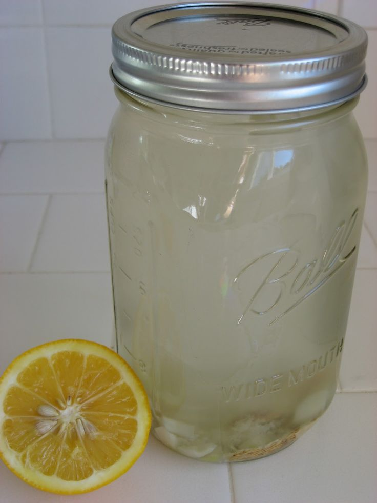 Hot Garlic-Ginger Lemonade -   Immune boosting - a wonderful natural remedy for colds and flu.