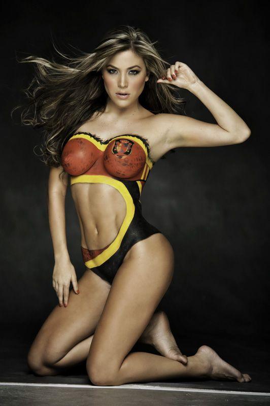 Sports illustrated painted bikini