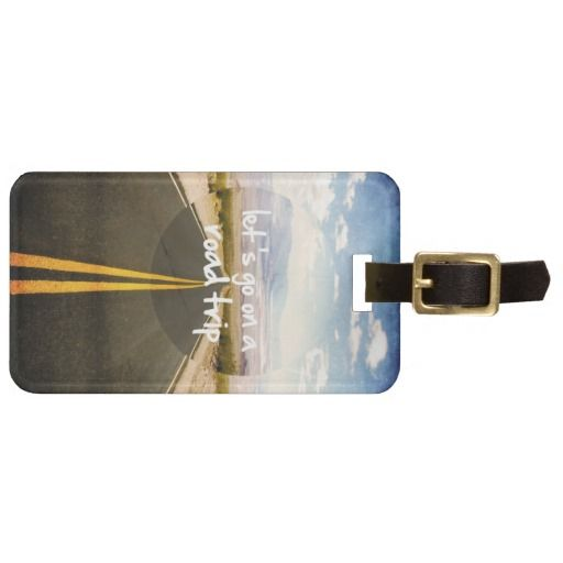 Let's go on a road trip bag tags