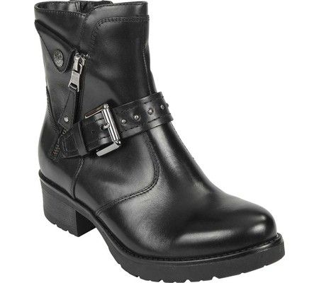 06b4a3c15bf Womens Earth Drumlin Motorcycle Boot - Bark Calfskin - FREE Shipping    Exchanges