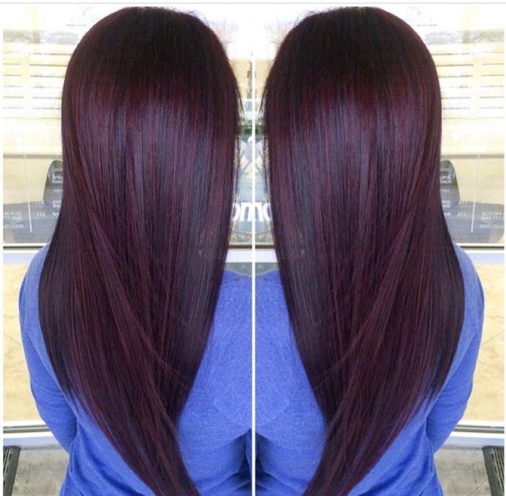 Plum Brown Plum Hair Hair Color Hair
