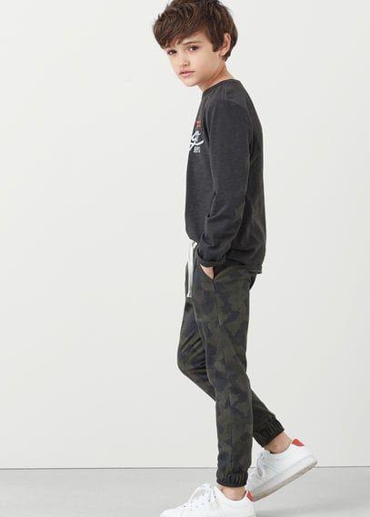 Mangokids Marka Kamuflaj Desenli Jogging Pantolon ||                         http://www.1001stil.com/urun/3347308/kamuflaj-desenli-jogging-pantolon.html?utm_campaign=Mango&utm_source=pinterest