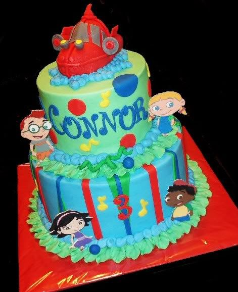 Her cake will look nothing like this but it's fun to play around :-)
