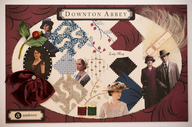 Downton Abbey Fabric Collection