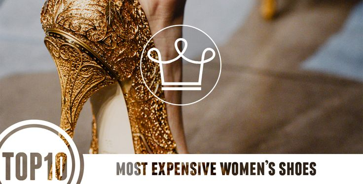 These 10 Shoes Cost More Than Your House #expensiveshoes #top10 #thewealthreport http://www.alux.com/most-expensive-shoes-for-women/