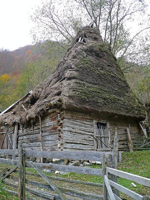 posaga village/alba area/apuseni-carpathian mountains zone/romania