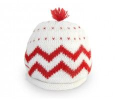 zig zag baby hat for the little loves.