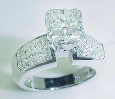 Big Diamond Wedding Rings   radiant engagement diamond ring free shipping your diamond search is ...