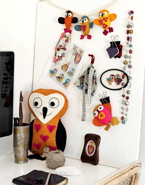 Sweet owls...