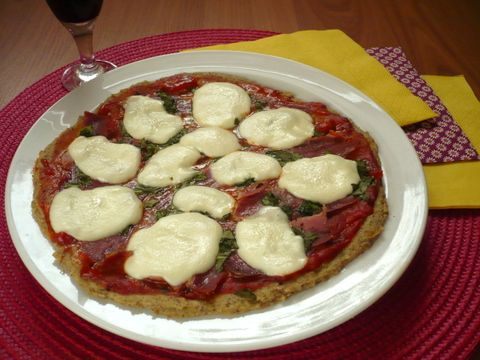 Pizza z hrašky