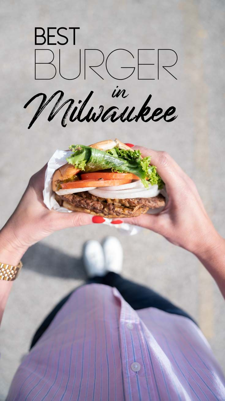 The standard Milwaukee burger isn't just cheese, pickles