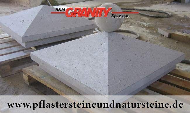 Firma B&M GRANITY – Abdeckplatten für die Mauer, Säulen usw. aus unterschiedlichen Natursteinen haben diverse Formen. Die werden auch aus unterschiedlichen Natursteinen hergestellt. Alles hängt von Wünschen unserer Kundschaft ab. http://www.pflastersteineundnatursteine.de/fotogalerie/platten/