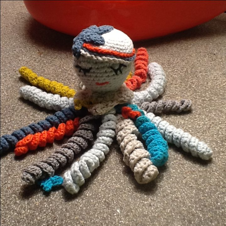 Amigurumi#poulpe#pieuvre # tricot #Crochet # knitting #prématuré # bébé # baby #premature baby#doudou#blankie # blanky#peluche #DIY