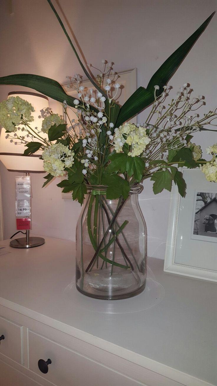 Slaapkamer boeketje bloemen