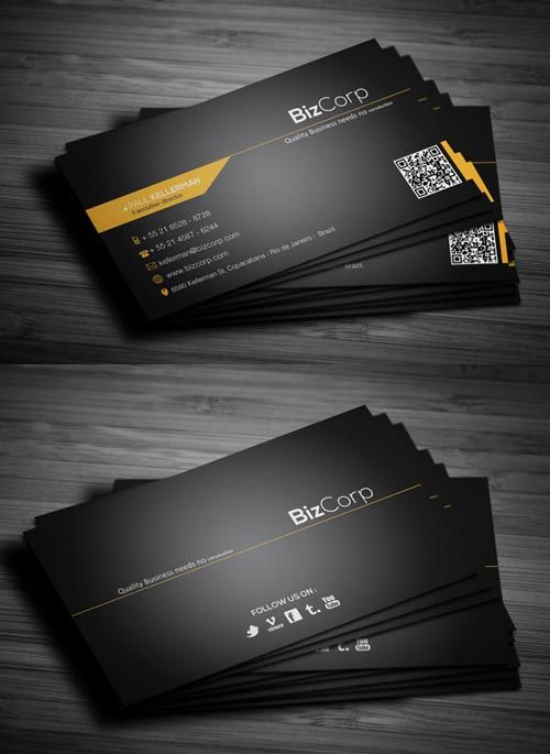 Business Cards Design: 50 Creative Examples | Graphics Design | Design Blog