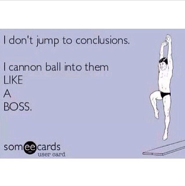 Jumping To Conclusions Quotes: 24 Best Thanksgiving Cartoons & Humor Images On Pinterest