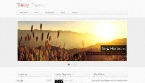 Trinity WordPress Theme Preview