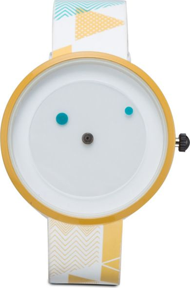 Geometric Graphic Splash Watch