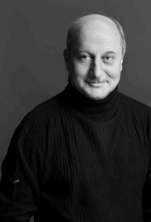 Anupam Kher - one of the few Bollywood actors known by name in the west.