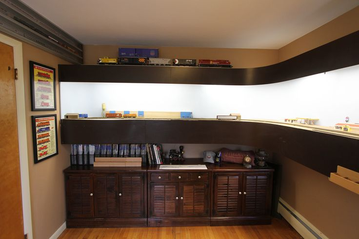 Huron Amp Eastern Ho Scale Shelf Layout Flickr Photo