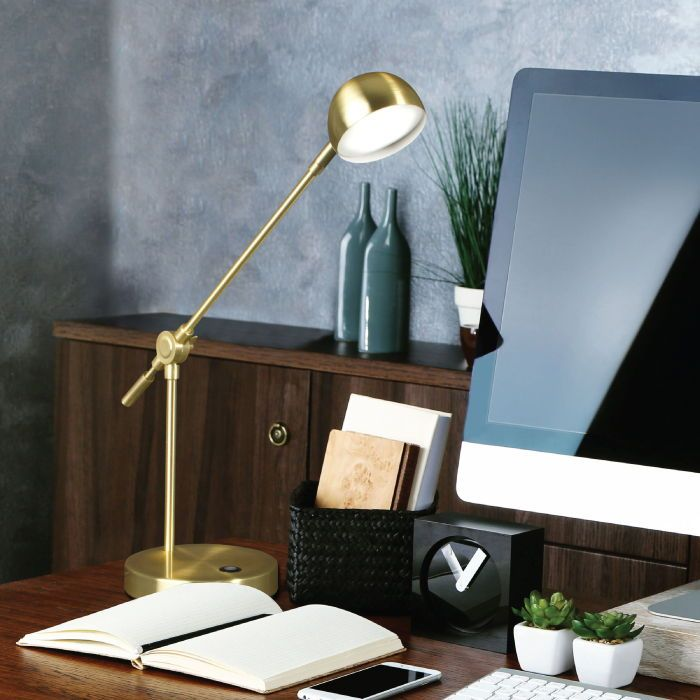 We Are So Thrilled To Announce Another New Member Into Our Ottlite Wellness Series The Direct Led Desk Lamp With Ottlite Cl With Images Lamp Reading Lamp Floor Desk Lamp