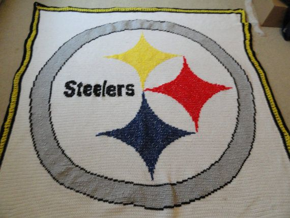Pittsburgh Steelers Blanket by Nflquiltsbytammy on Etsy