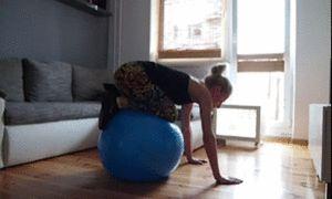 Brzuch jak skała - 46 gifów z ćwiczeniami i kilka rad