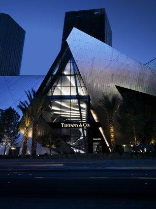 Tiffany & Co. - Las Vegas City Center: Cities Center, Las Vegas, Tiffany Las, Vegas Baby, Vegas Cities, Places I D, Black Architecture, Living Las, Design Blog