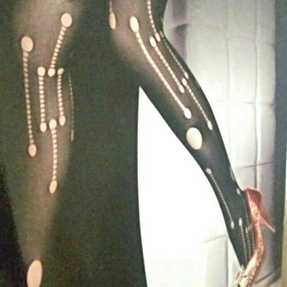 No OFFERS Sexy Running Design Hosiery Sexy Hosiery One Size Fits Most ~0-175lbs Boutique Accessories