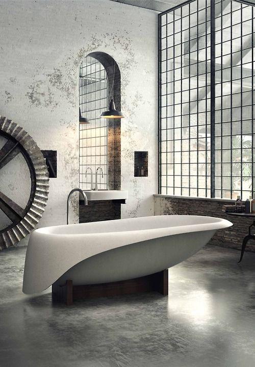 INTERIORS / DECOR / EXTERIORS / Bath Tub — Designspiration