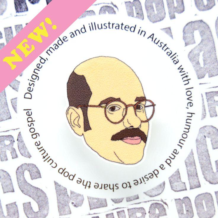 Arrested Development - Tobias Funke pin! by popcultureplastics on Etsy