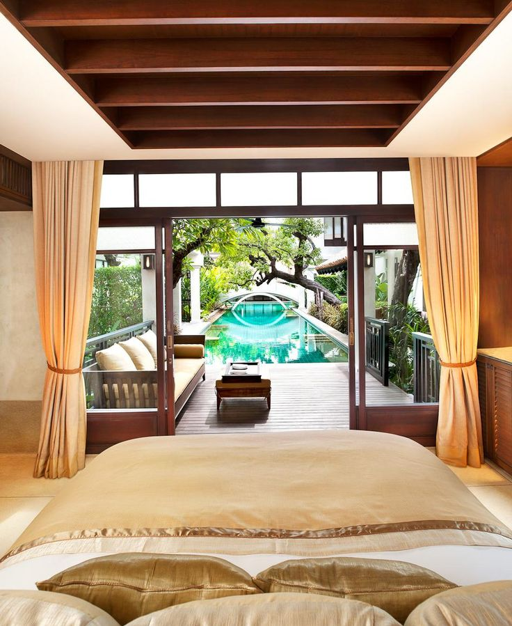 Pool access suite at the luxurious Le Méridien Resort & Spa in Koh Samui, Thailand