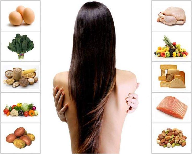 19 Alimentos que você deve comer para seu cabelo parar de cair e crescer mais rápido